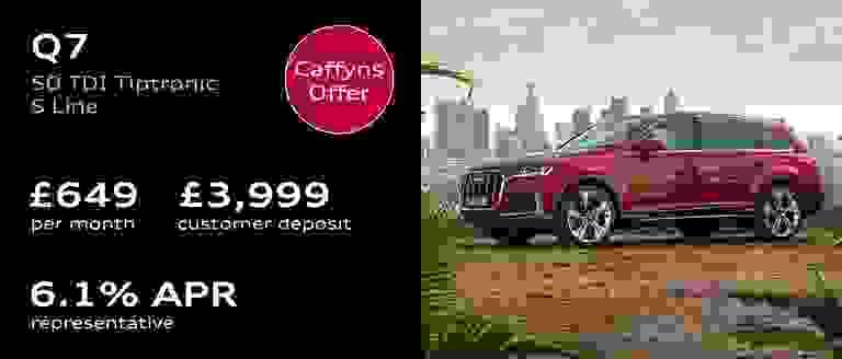 Caffyns Offer - Audi Q7 Finance Offer