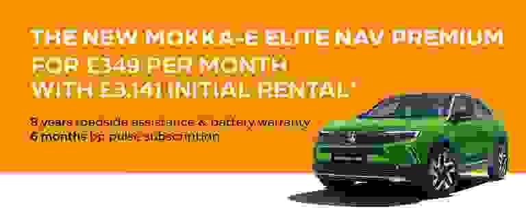 New Mokka-e PCH Offer