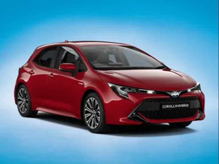 New Corolla Hybrid Design