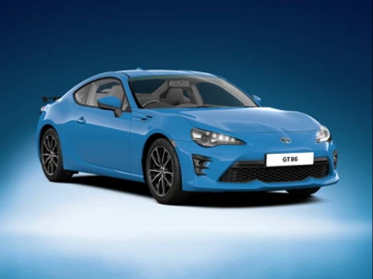 GT86 Club Series: Blue Edition