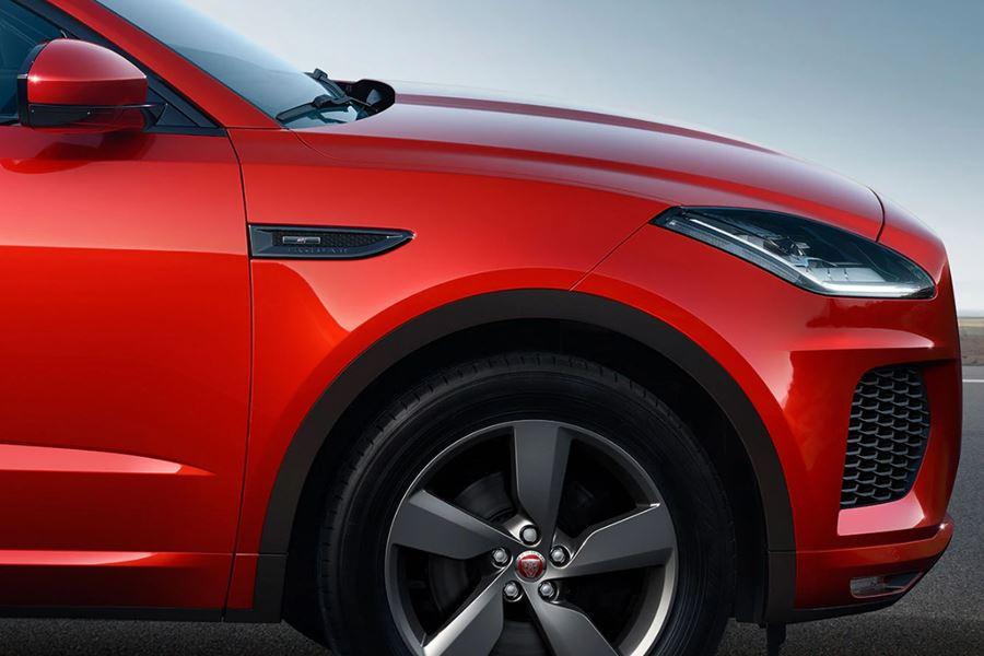 Jaguar E-Pace Front End