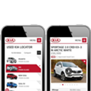 Launch the KIA Used Vehicle Locator
