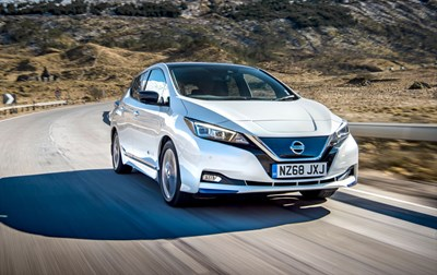 New MY19 Nissan LEAF e+
