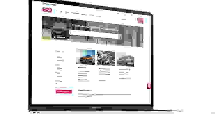 Drive Vauxhall Single Franchise Dealer Web Design