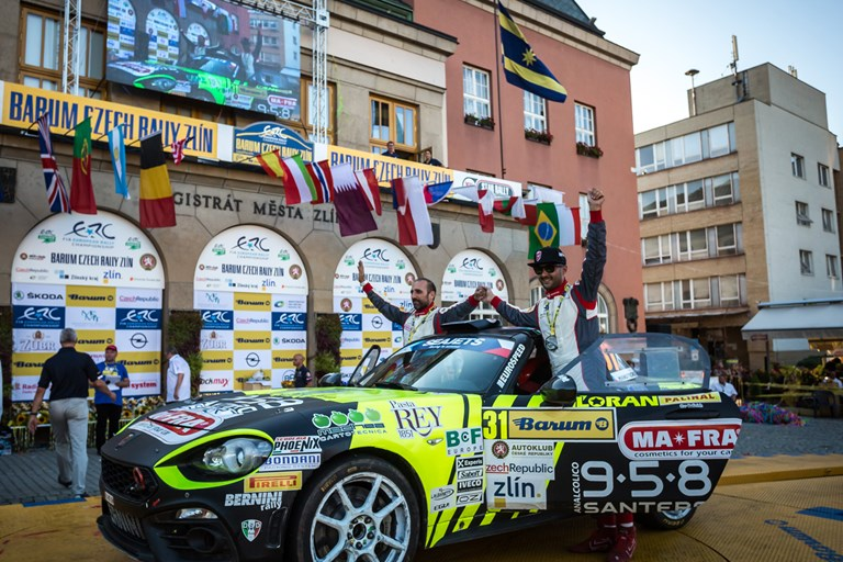 Abarth 124 Wins Again at Czech Republic Rally