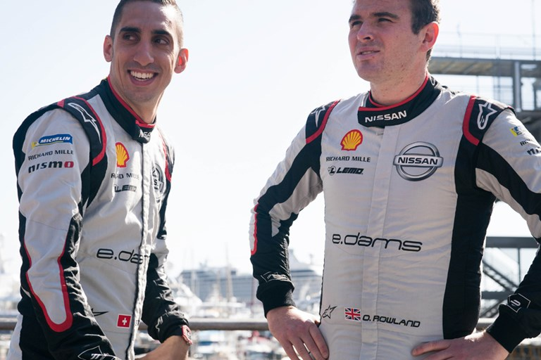 Nissan e.dams' record-setting drivers to return for new Formula E season